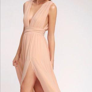 Lulu's dress (pink/peach)